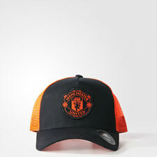 Manchester United Camionista PAC MAN UTD Adulti Uomo Baseball Hat Ufficiale Adidas