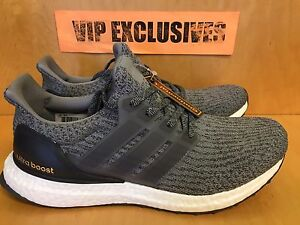 Image Is Loading Adidas Ultra Boost 3 0 Mystery Heather Grey
