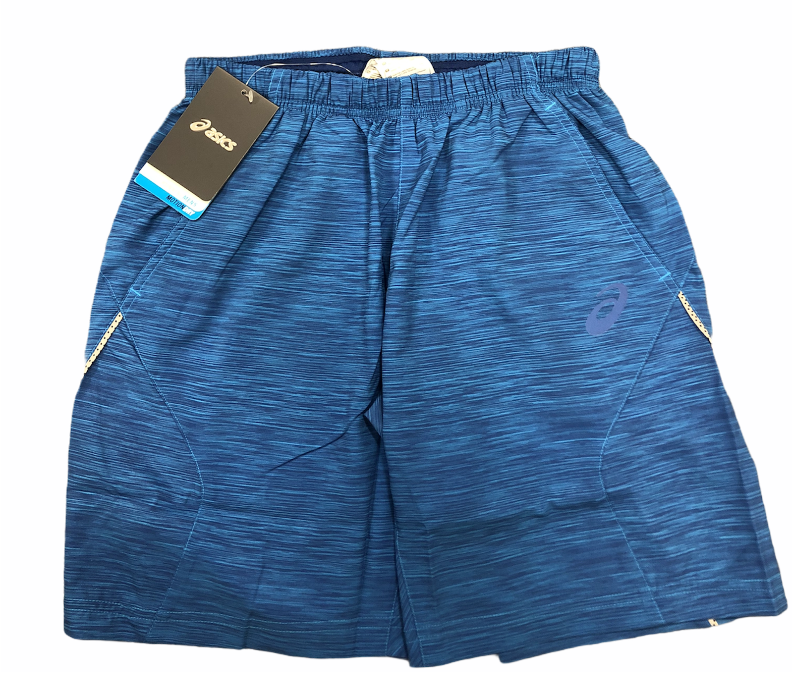 Asics Men's Running Shorts 11 Inch Soukai Training Shorts - Blue - New