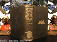 1870 Voyages to ASIA Siberia China Tartary Illustrated Mongolia MAPS Russia Knox
