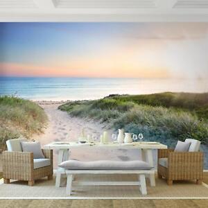 Vlies Fototapete Strand Meer Wandtapete Tapete Wandbilder XXL Dekoration Runa 90