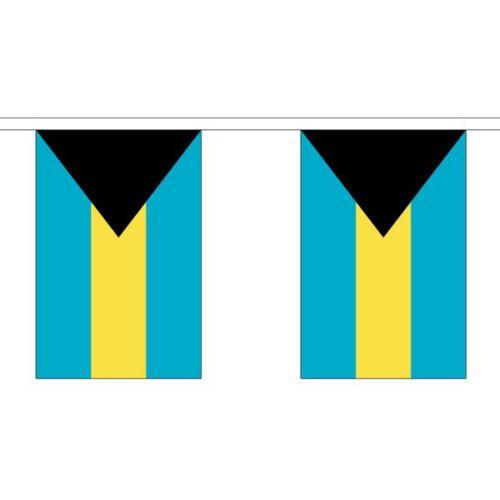 3m 6m 9m Metre Length 10 20 30 Flags Polyester Bahamas Flag Bunting