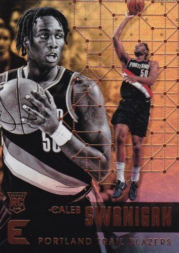Rookie #83 Caleb swanigan 2017-18 PANINI Essentials Basket Cox