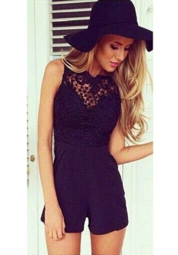 Womens Summer Holiday Ladies Party Jumpsuit Evening Playsuit Ladies Vincenza UK