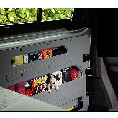 extra storage DIY Campervan Kiravans VW T5 door store RIGHT sliding door