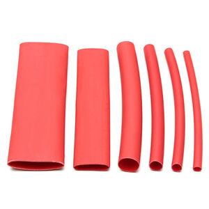 2mm-Cable-Rojo-Heatshrink-Calor-Shrink-Tubo-1-Metro