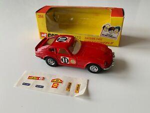 Corgi-Whizzwheels-No-394-Datsun-240Z-Rally-Safari-con-pegatinas-aplicadas