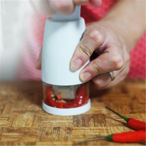 Manual Onion Chopper Garlic Crusher Pressing Food Cutter Vegetable Slicer PeelKP
