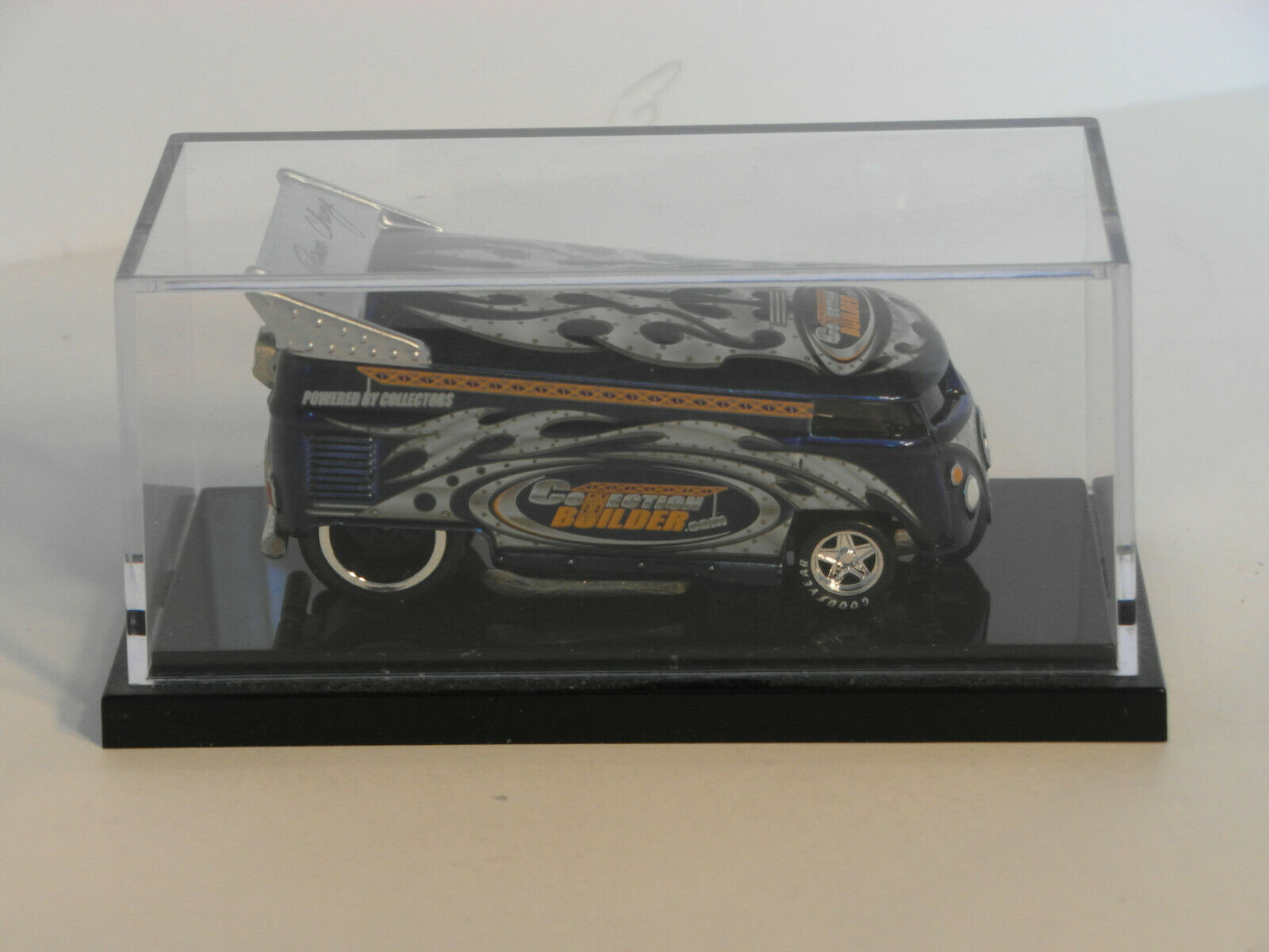 Hot Wheels Liberty Blau COLLECTION BUILDER by DAVE CHANG VW Drag Bus   1222