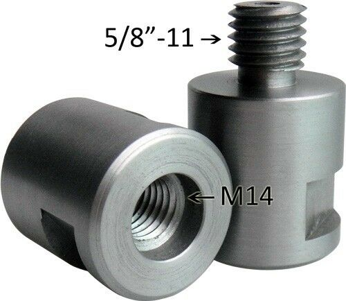 "Adapter 5/8""-11 to M14"
