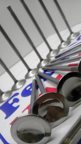 1MM Exhaust Valves Honda H22A H22A4 H22 DOHC VTEC Prelude Ferrea 6000 Series