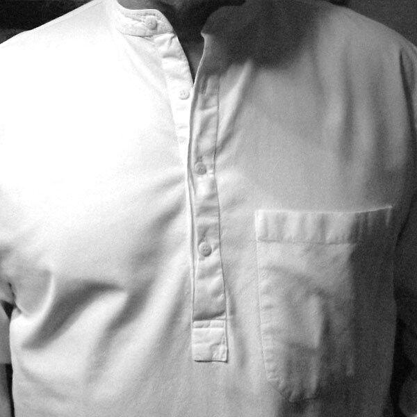Grandad Shirt Original half half half  button Kaboo Trading the Collarless shirt Company | Authentisch  | Sonderaktionen zum Jahresende  51faef