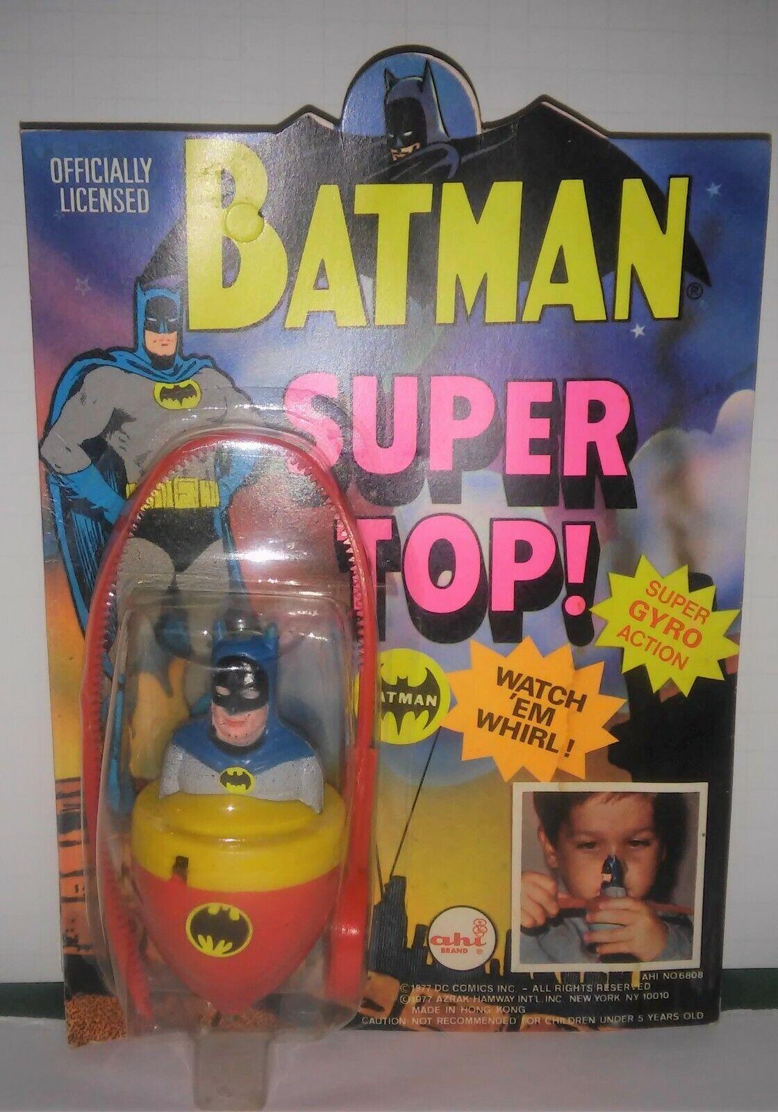 BATMAN AHI súper Top menta en tarjeta muy agradable sin problemas 1977 D.C. Comics Hong Kong