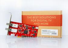 TBS 6902 1080P Dual Tuner DVB-S2 PCIe HD Free to Air Satellite TV card receiver