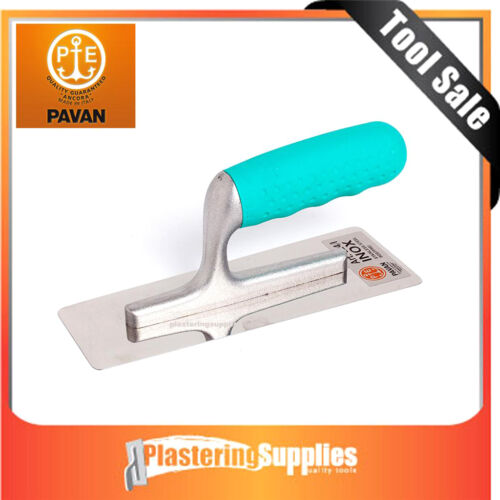 Ancora Pavan 824 Marble Finishing Trowel 200mm Stainless Steel Made in Italy