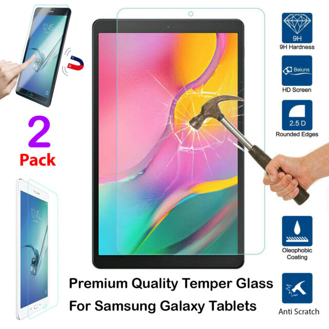 "2 Pack Clear Tablet Screen Protector Guard For 10.1/"" Samsung Galaxy Tab A"