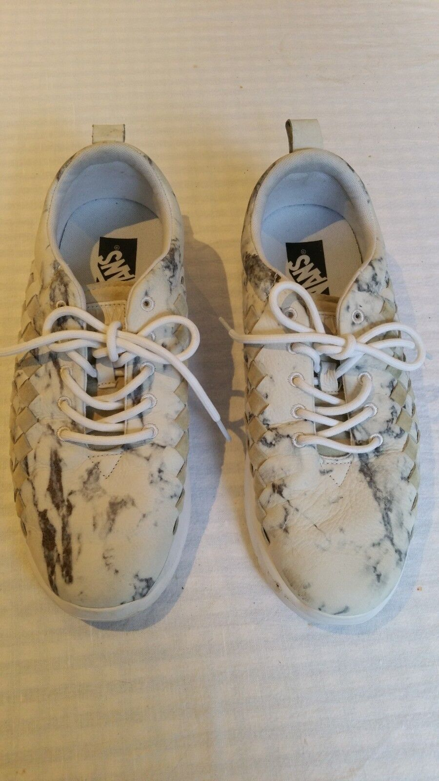 Mens Vans.  Marble Effect Limited Edition. Size 8.5 uk
