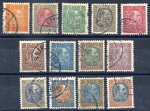ICELAND-1902-04-Christian-IX-definitive-set-used