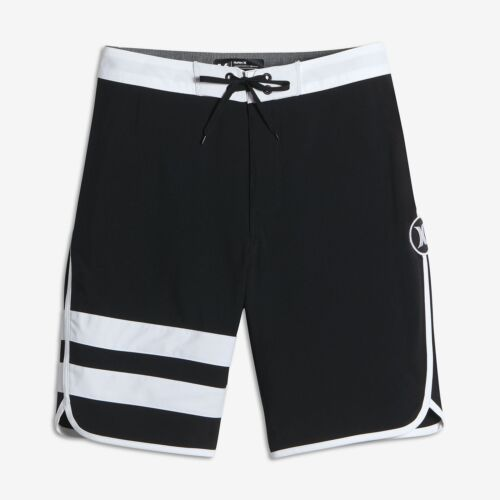 "Hurley Kids /'Boys/' Youth Phantom Block Party 17/"" Shorts-Noir"