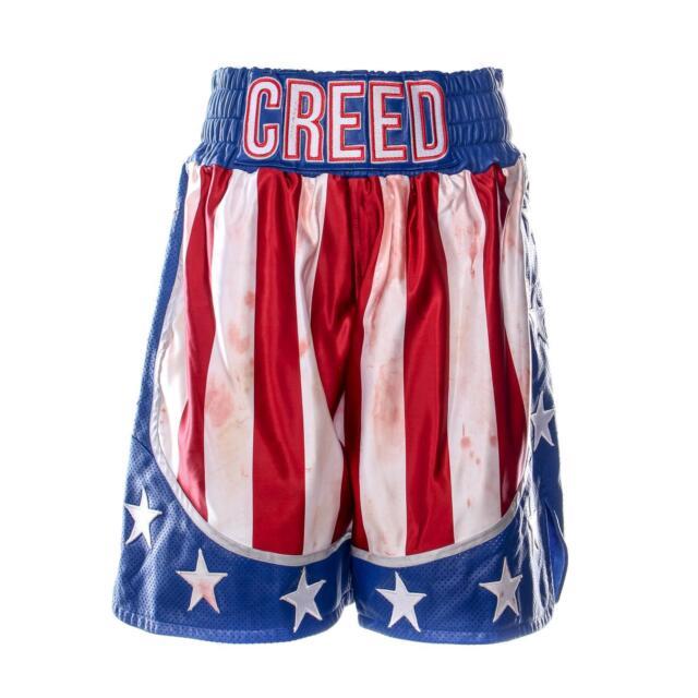 Creed 2 Adonis Creed MIchael B Jordan Screen Worn Bloody Boxing Shorts Ch 18