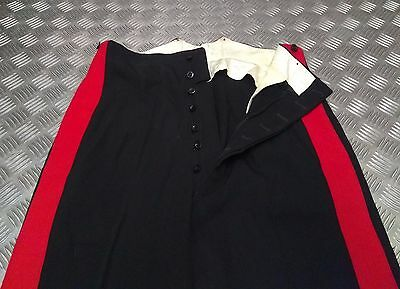 "Surplus Lovely Genuine British Army No1 Rhq A/o Ranks Dress Trouser 2"" Red Stripe Trhq01 Men's Clothing"