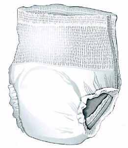 48-XXL-Adult-Pull-On-Disposable-Briefs-Undergarments-Incontinence-Cloth-Like-2XL