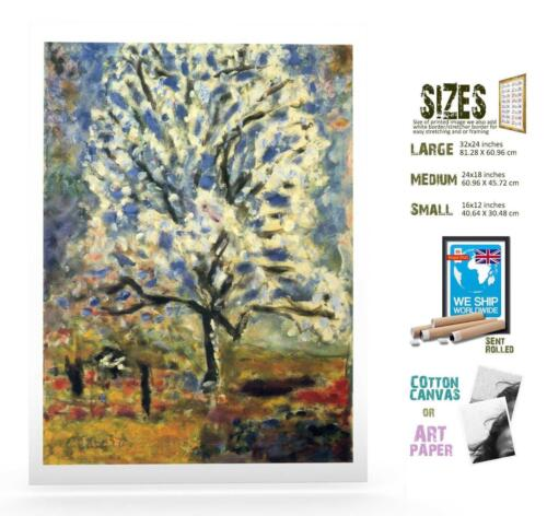 Print Pierre Bonnard Post Impressionism 4 Almond Tree In Blo