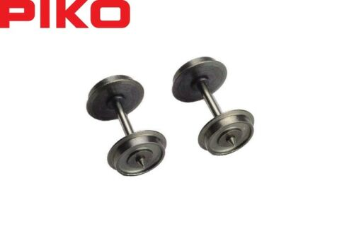 Piko H0 56050 DC Gleichstromradsatz einseitig isoliert 11,3 mm NEU 2 Stück