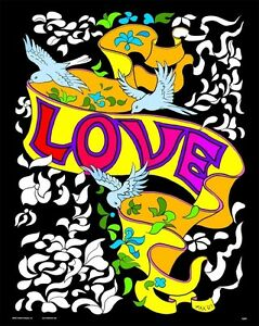 Love Banner - Large 16x20 Inch Fuzzy Velvet Coloring Poster ...