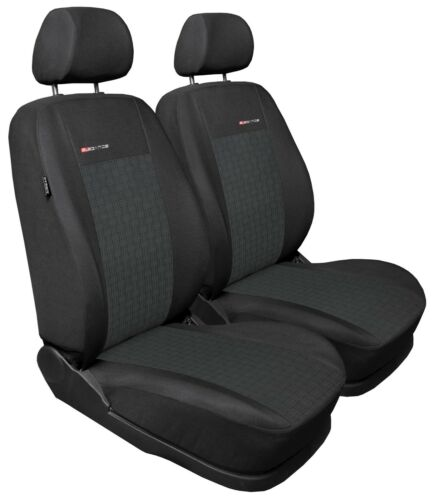 grey pair #1 Car seat covers for front seats fit Ford Focus Mk1