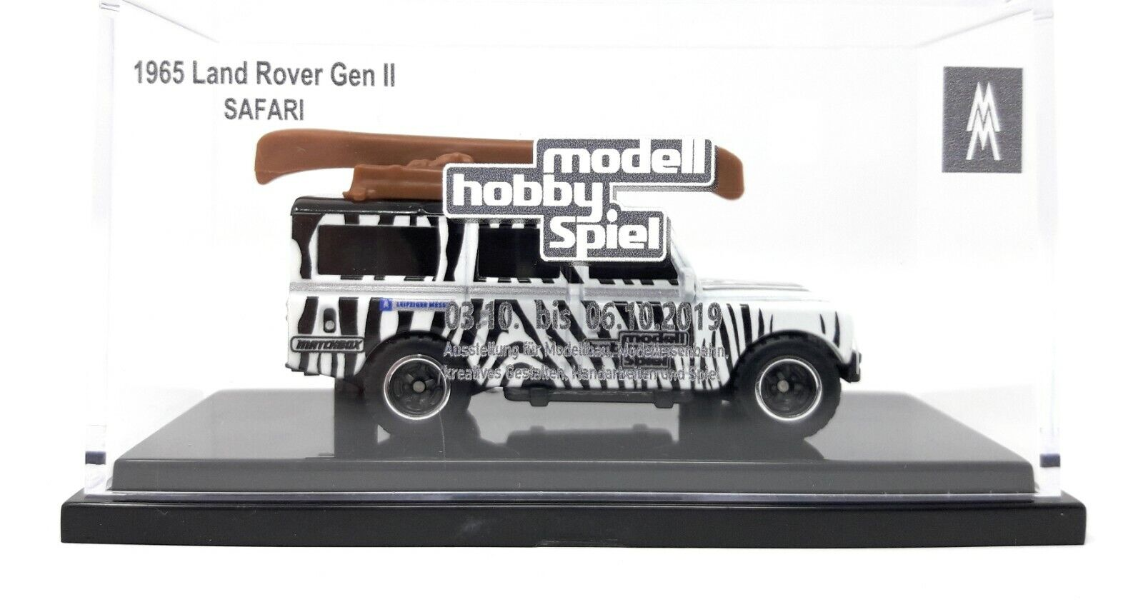 Matchbox MBX Superfast Land Rover Safari white Leipzig Toy Fair 2019 1 of 75