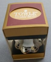 Towle 2011 Silver-plated 32nd Pierced Bell Christmas Ornament In Box