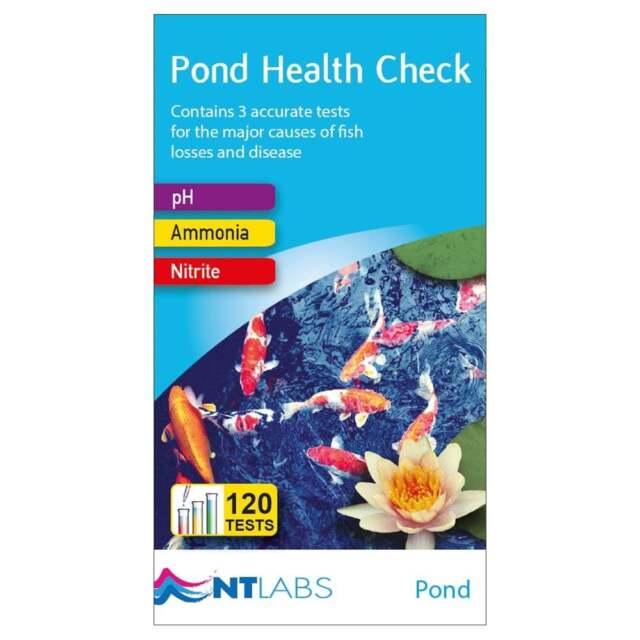 NT Labs Pond Health Check