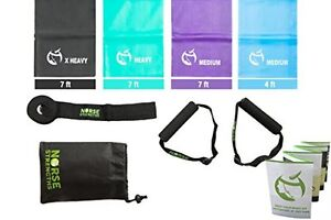 Norse-Strengths-Resistance-Bands-Kit-4-Exercise-Physical-Therapy-Stretch-Sports