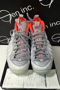 42115a36ef384e Authentic Nike Air Foamposite One Prm Platinum Pure Wolf Grey Size ...