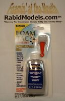 Foam Tac Glue - 2oz Bottle & Nozzle Clear, Fast, Waterproof, Foam Safe By Beacon