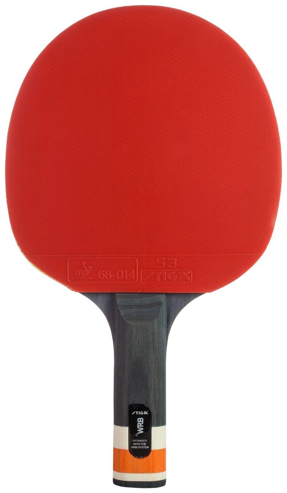 STIGA Table Tennis Racket Racket Racket Blade Straight Concave Indoor 4cbbfa