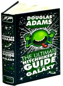 The Ultimate Hitchhiker's Guide to the Galaxy by Douglas Adams Leather Bound NEW