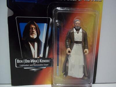 Star Wars Power of the Force Red Card Ben Obi-Wan Kenobi In Package