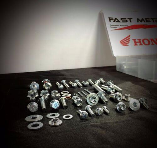 250pc HONDA BOLT KIT CR60 CR80 CR85 CR125 CR250 CR450 CR500 FENDERS SEAT BODY
