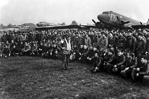 New-5x7-World-War-II-Photo-Artillery-Gen-Anthony-Mcauliffe-101st-Airborne