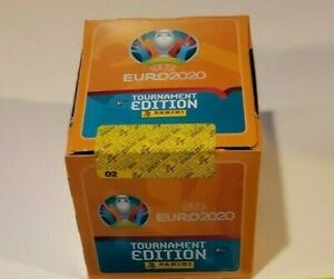 Panini UEFA EURO 2020 Tournament 50 Pack Box (250 Sticker)