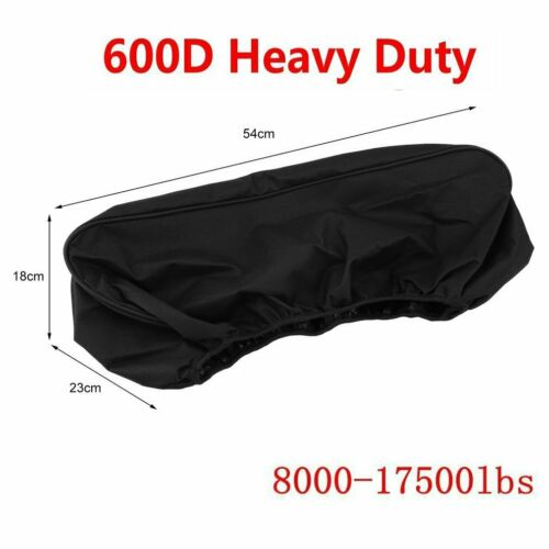 Waterproof Soft Winch Dust Cover Driver Recovery 8,000~17,500 lbs capacity CM