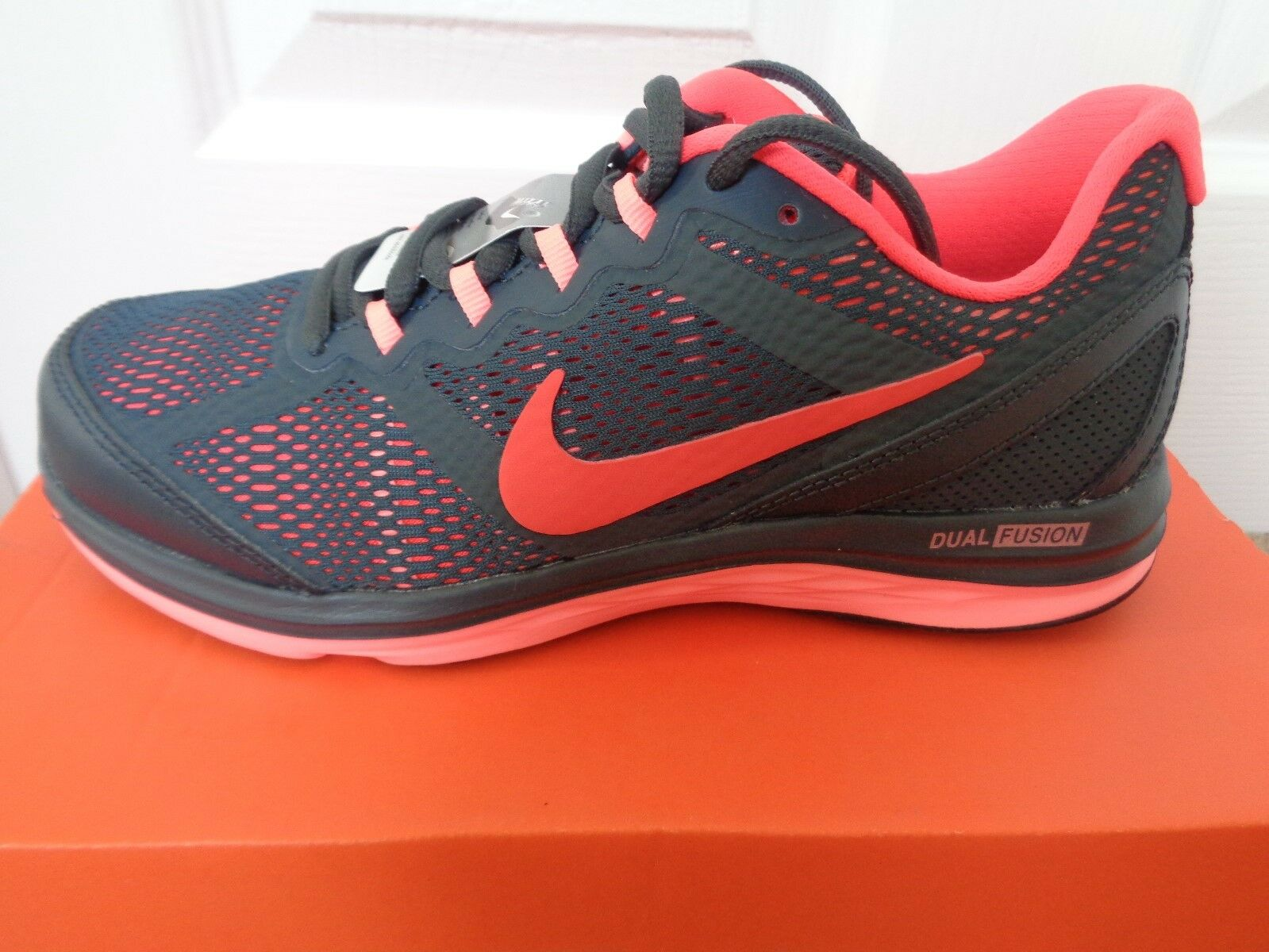 Nike Dual Fusion Run 3  Femme  trainers  chaussures  sneakers 653594 013 NEW+BOX