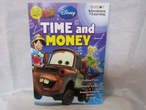 Disney Workbook Addition and Subtraction Homeschool Daycare NEW