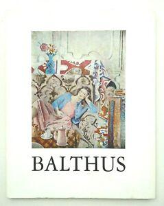 Actif Peinture: Livre-catalogue Exposition Balthus - Casino Knokke 1966 Qualité Et Quantité AssuréE
