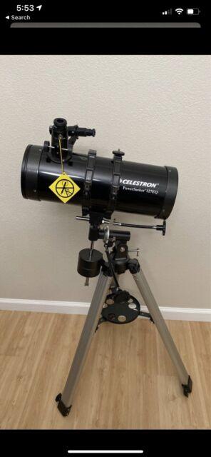 Celestron PowerSeeker 127EQ Telescope for sale online   eBay