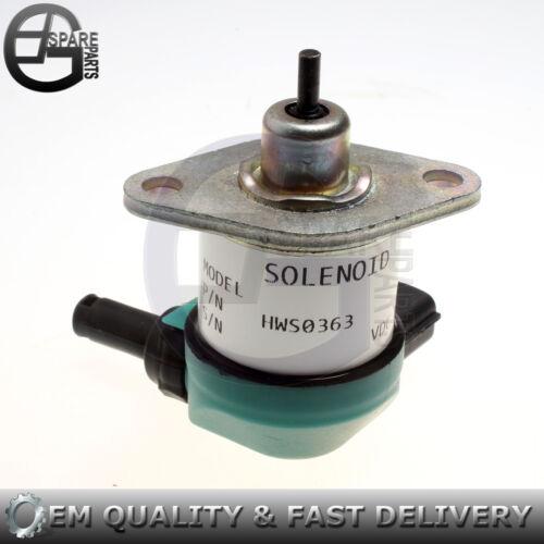 Fuel Shutoff Solenoid Valve for Kubota B7510DN B7510HSD B7610HSD B7800 HSD D905