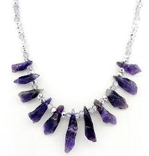 Titanium Crystal Agate Amethyst Druzy Quartz Geode Stone Pendant Bead HU147