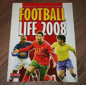 2008 EURO AUSTRIA&SWITZERLAND FOOTBALL LIFE COMPLETE Soccer Album Original RARE
